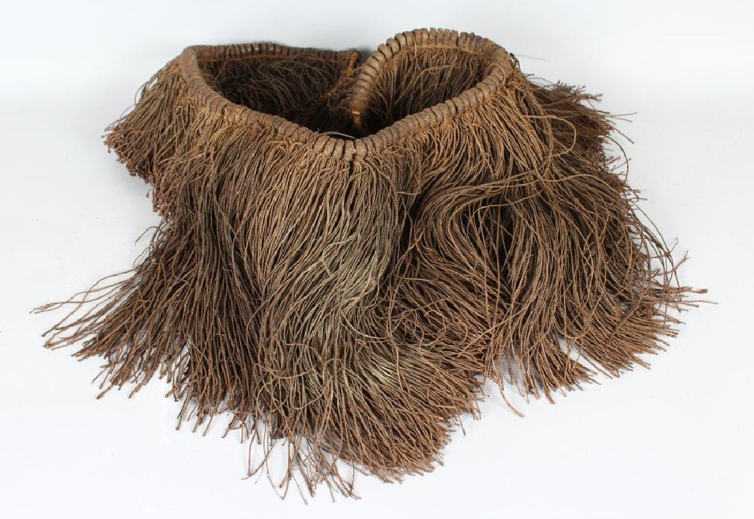 A FIJIAN 19TH CENTURY (LIKU) WOMAN'S SKIRT, vegetable