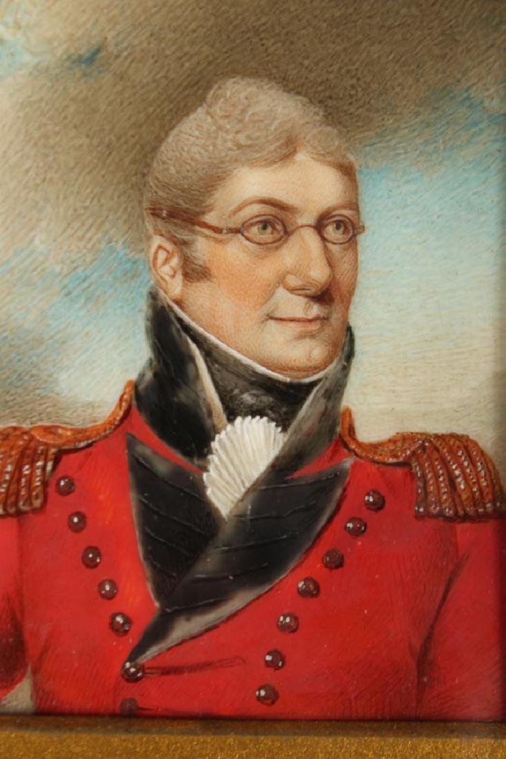 A PAIR OF GILT FRAMED PORTRAIT OF COLONEL GREENTREE AND - 4