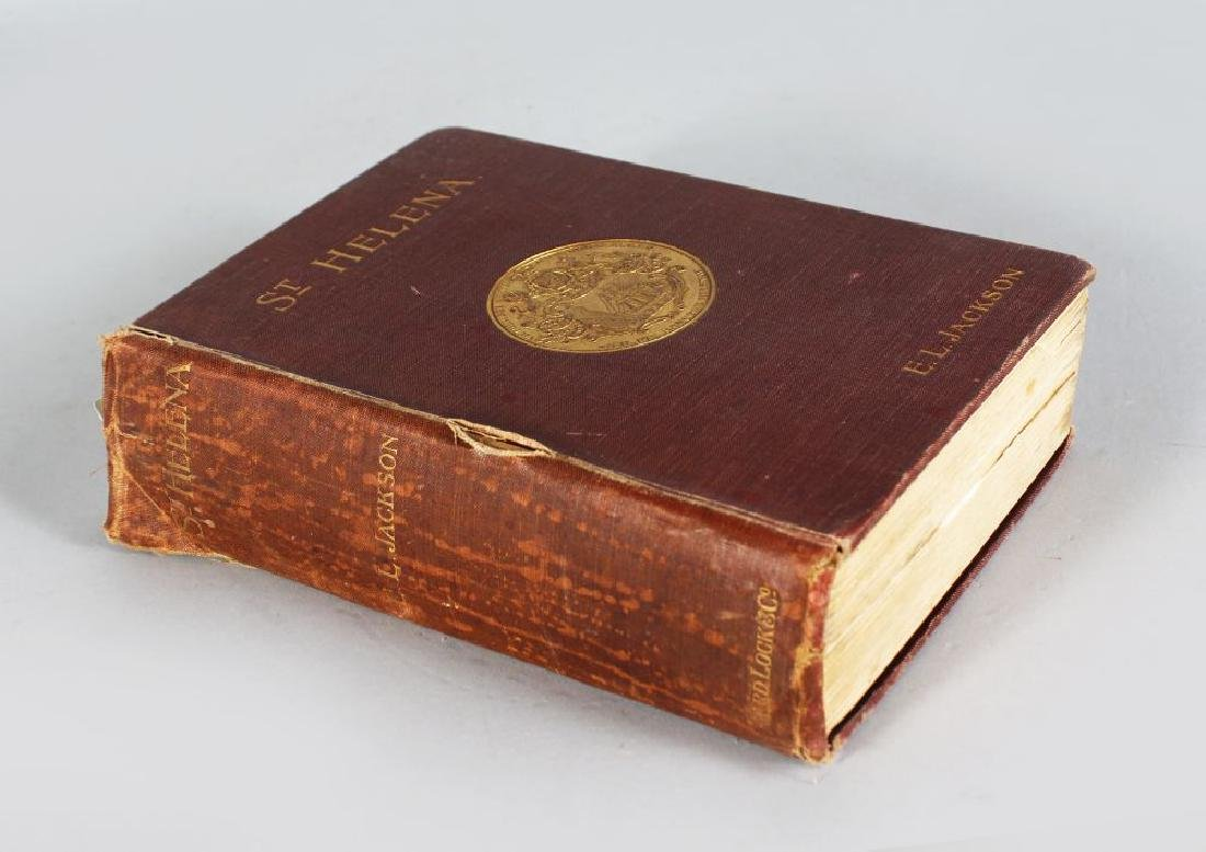 E L JACKSON ST HELENA, Published 1903 Ward Lock & Co
