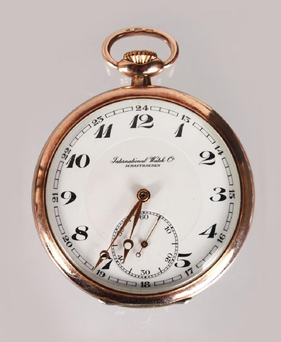 AN INTERNATIONAL WATCH CO. POCKET WATCH