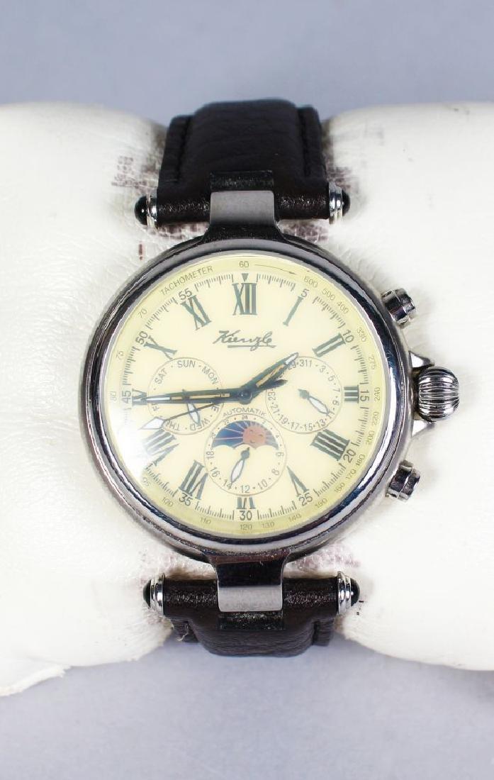 """VON KIENZLE """"The Da Vinci"""" chronograph wrist watch in"""