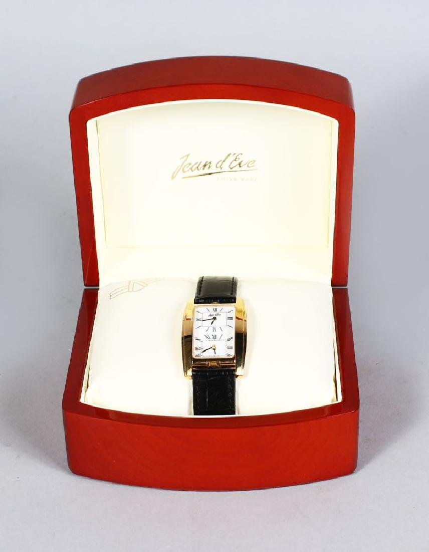 JEAN D EVE, with two dials in original box