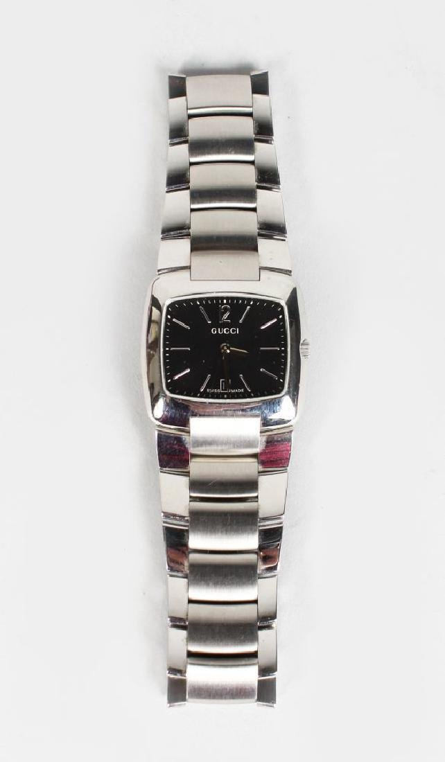 GUCCI, steel watch