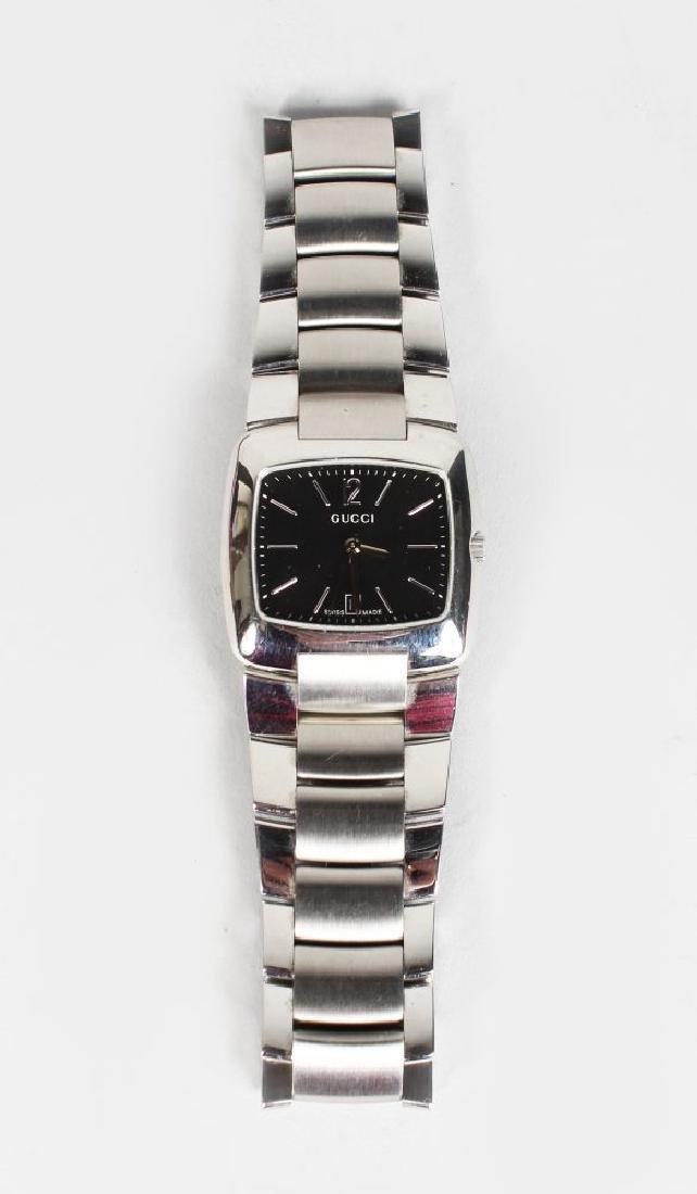 GUCCI, steel watch