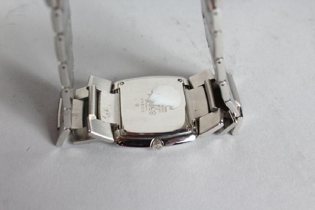 GUCCI, steel watch - 2