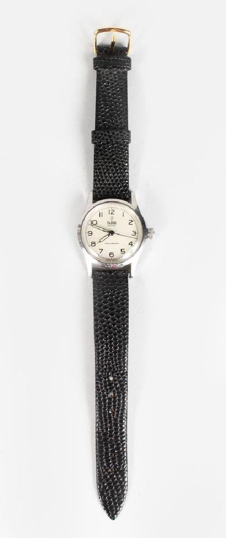 A 1920s TUDOR OYSTER, with leather strap