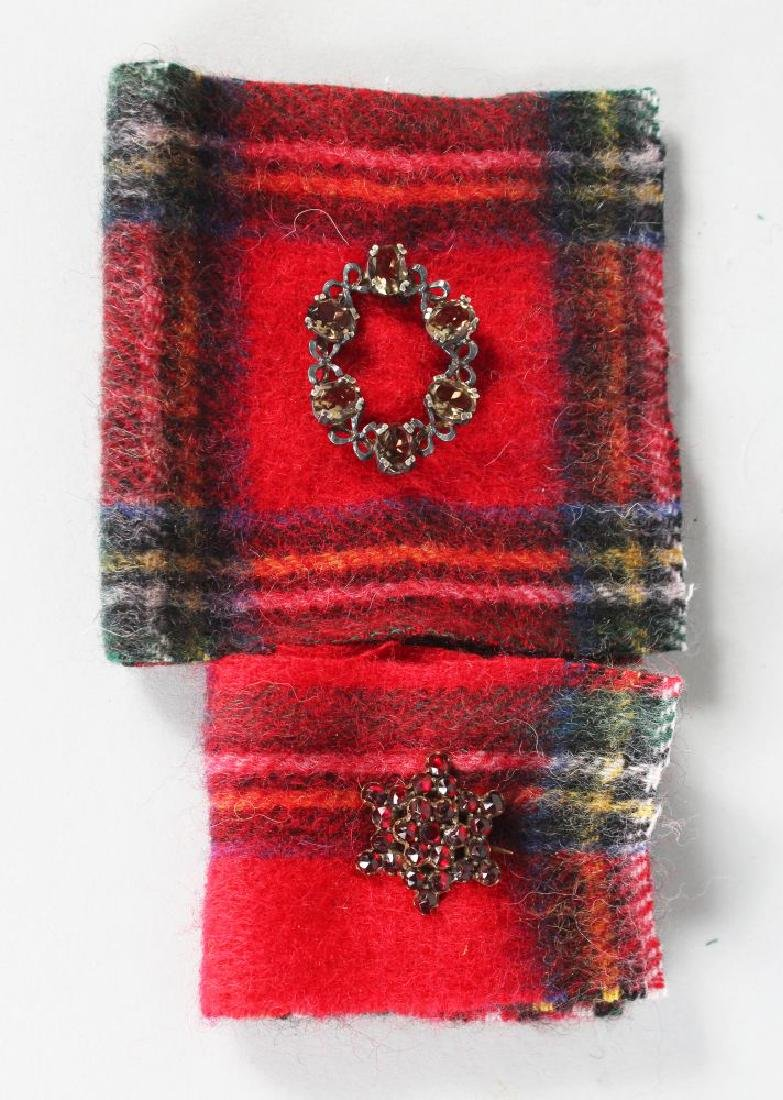 TWO SCOTTISH BROOCHES