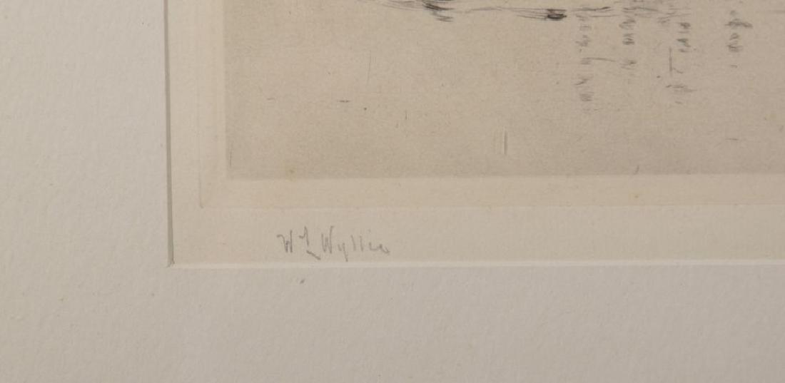 William Lionel Wyllie (1851-1931) British. View of the - 3
