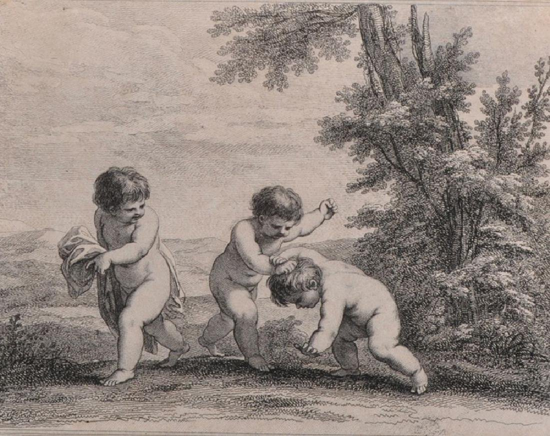 After Francois Boucher (1703-1770) French. Three