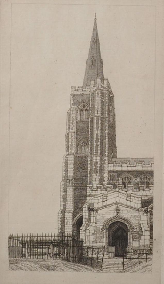 "Frederick Landseer Griggs (1876-1938) British. ""St."