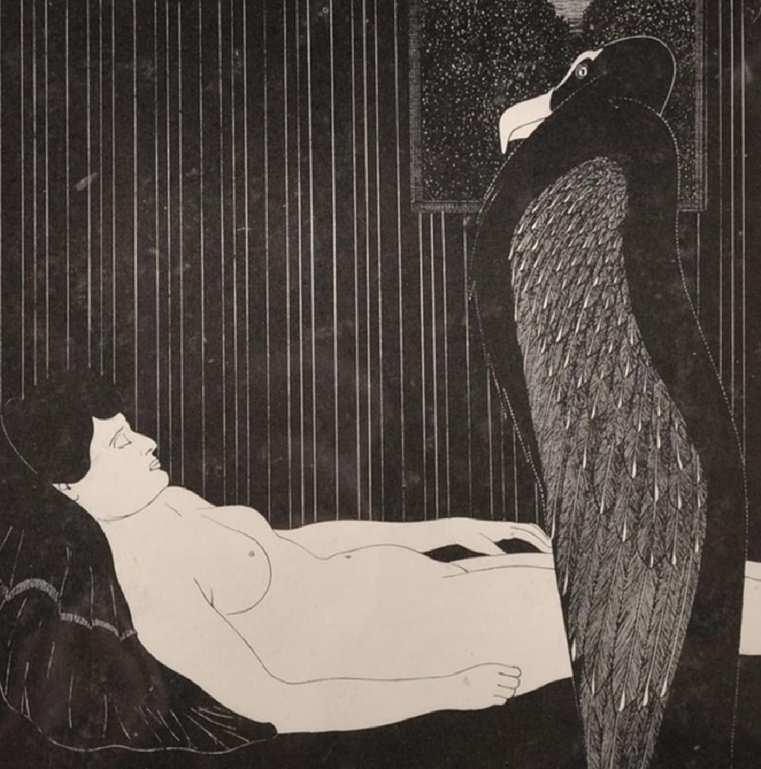 John Jack Vreislander (1879-1957) German. Study of a