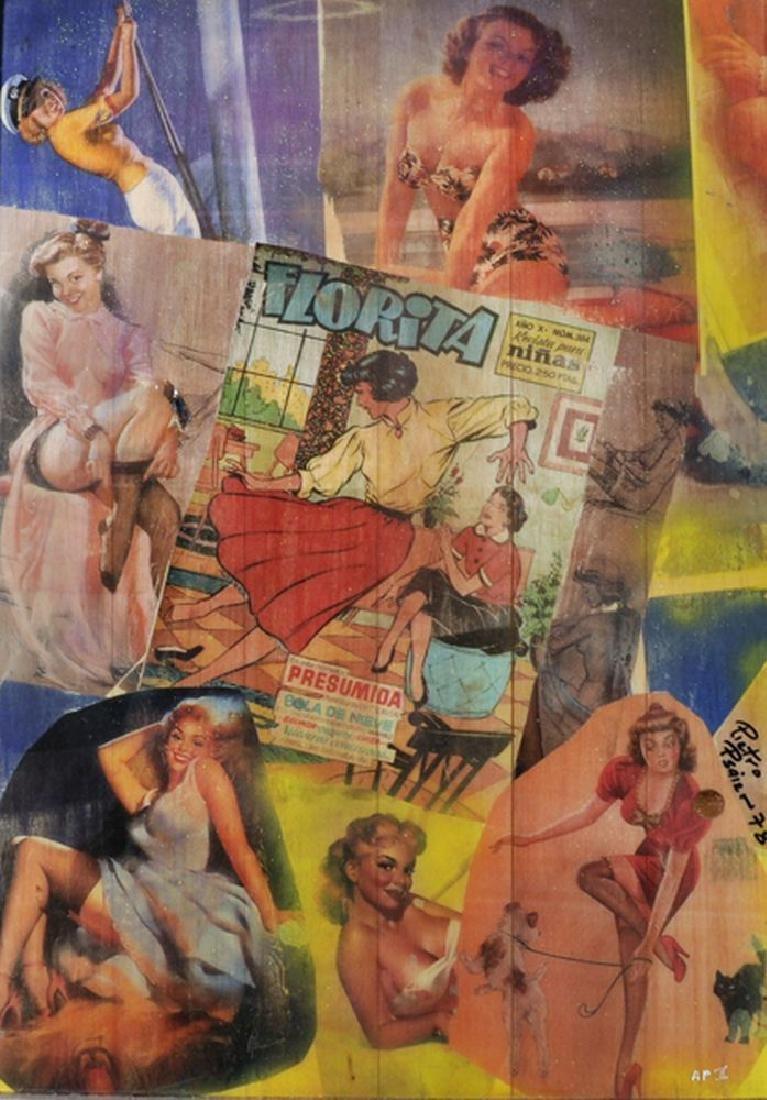 "Pietro Psaier (1936-2004) Italian. ""Florita Series, for"
