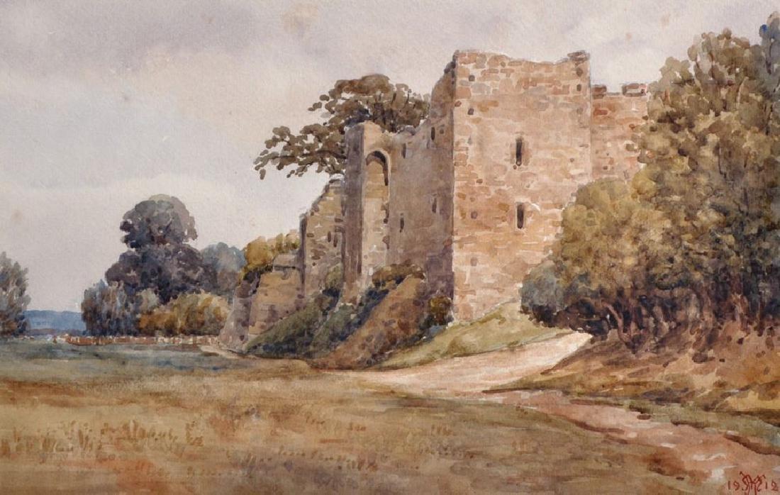 20th Century English School. 'Amberley Castle',