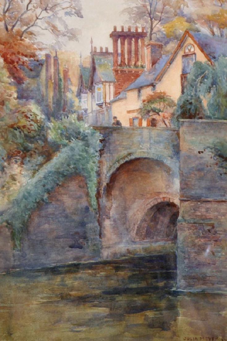 Julia Meyer (1864-1907) British. 'Stonebridge,