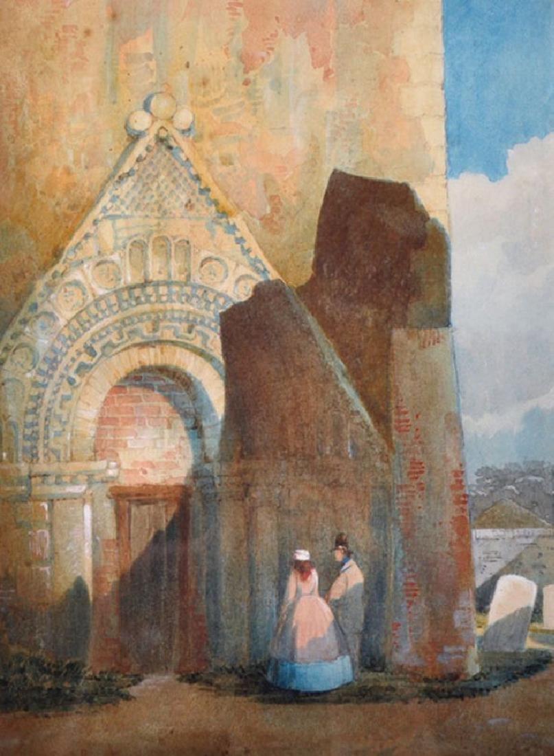 Samuel Gillespie Prout (1822-1911) British.
