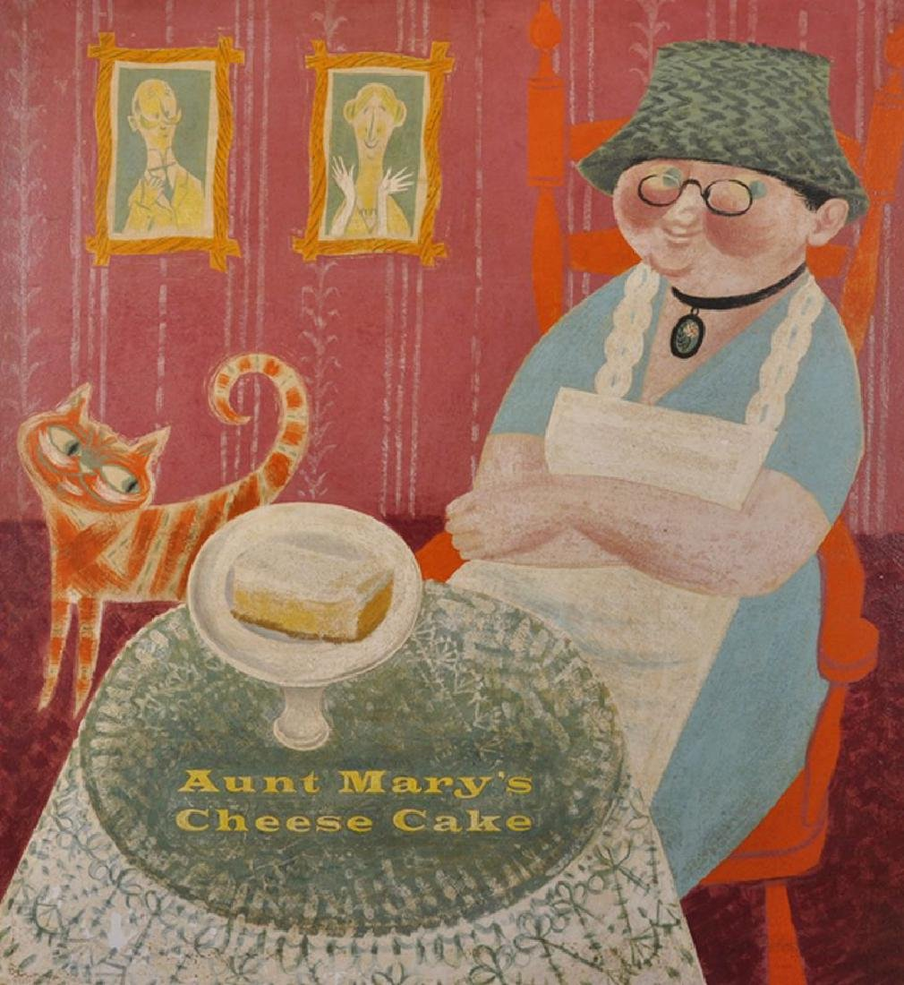 20th Century American School. 'Aunt Mary's Cheese Cake'