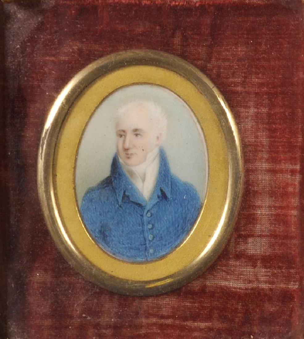 Early 19th Century English School. Portrait Miniature