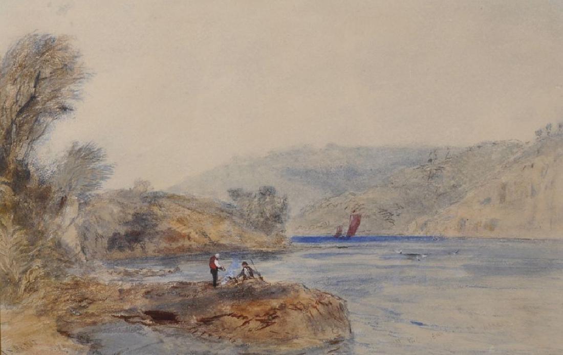 "John Skinner Prout (1806-1876) British.  ""On the"