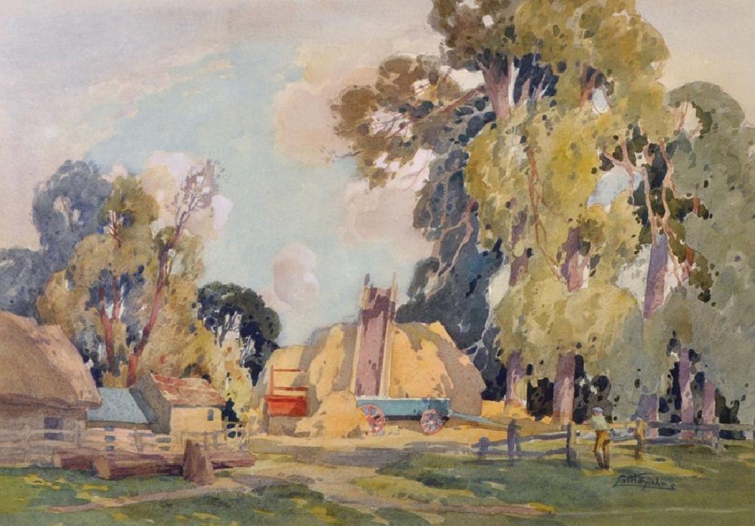 John Littlejohns (1874-1955) British. 'Gathered in