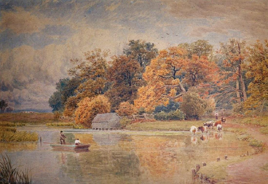 John MacPherson (act.1858-1884) British. River