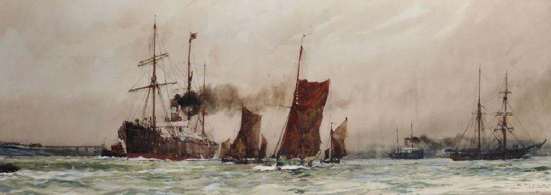 "Charles Edward Dixon (1872-1934) British. ""Off"
