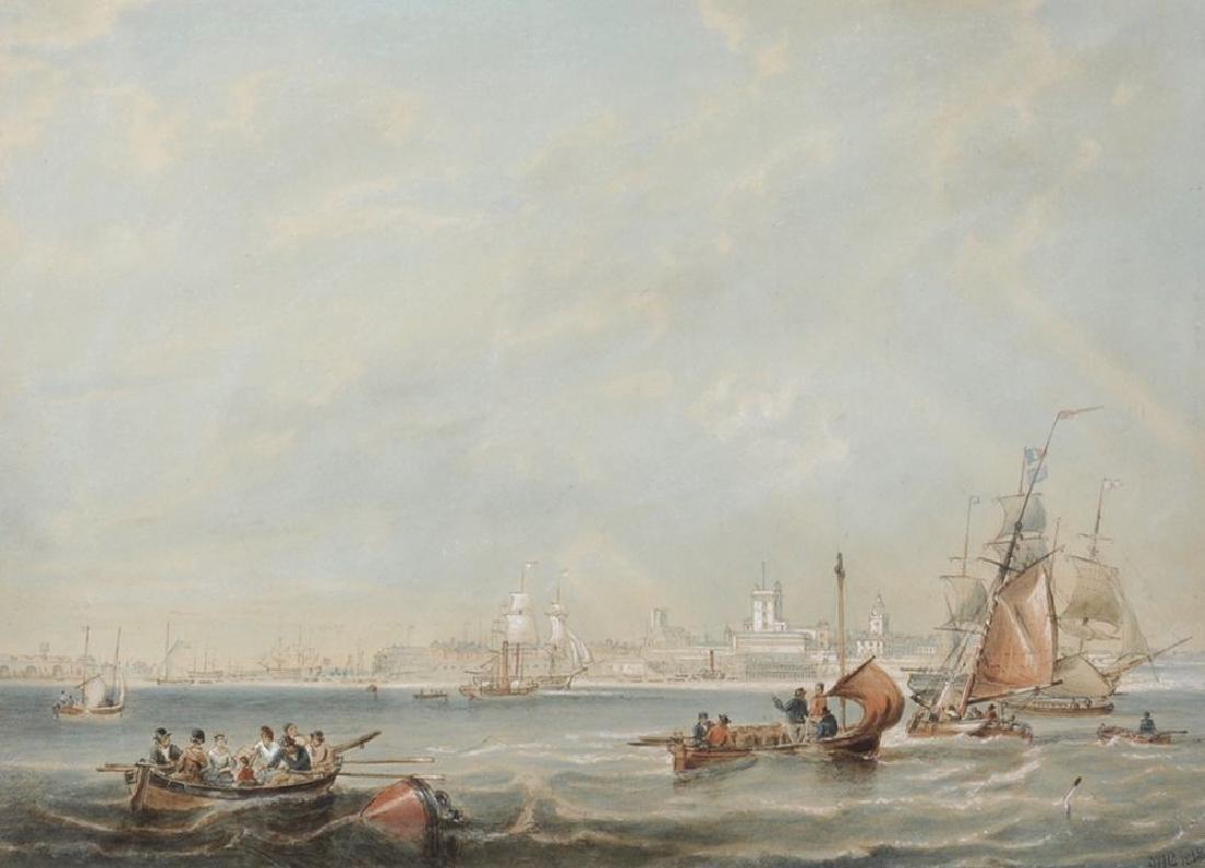 "John Wilson Carmichael (1800-1868) British. ""Portsmouth"