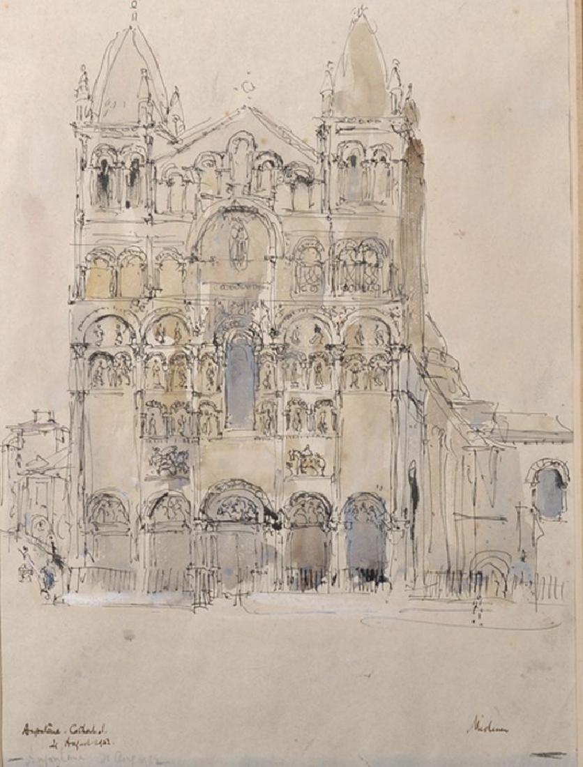 "Paul Ayshford Methuen (1886-1974) British. ""Angouleme"