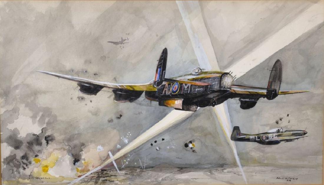 "Miles O'Reilly (20th Century) British. ""617 Squadron"","