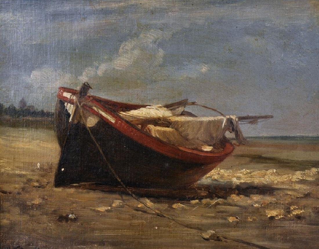 Manner of Edouard Frere (1819-1886) French. A Beached