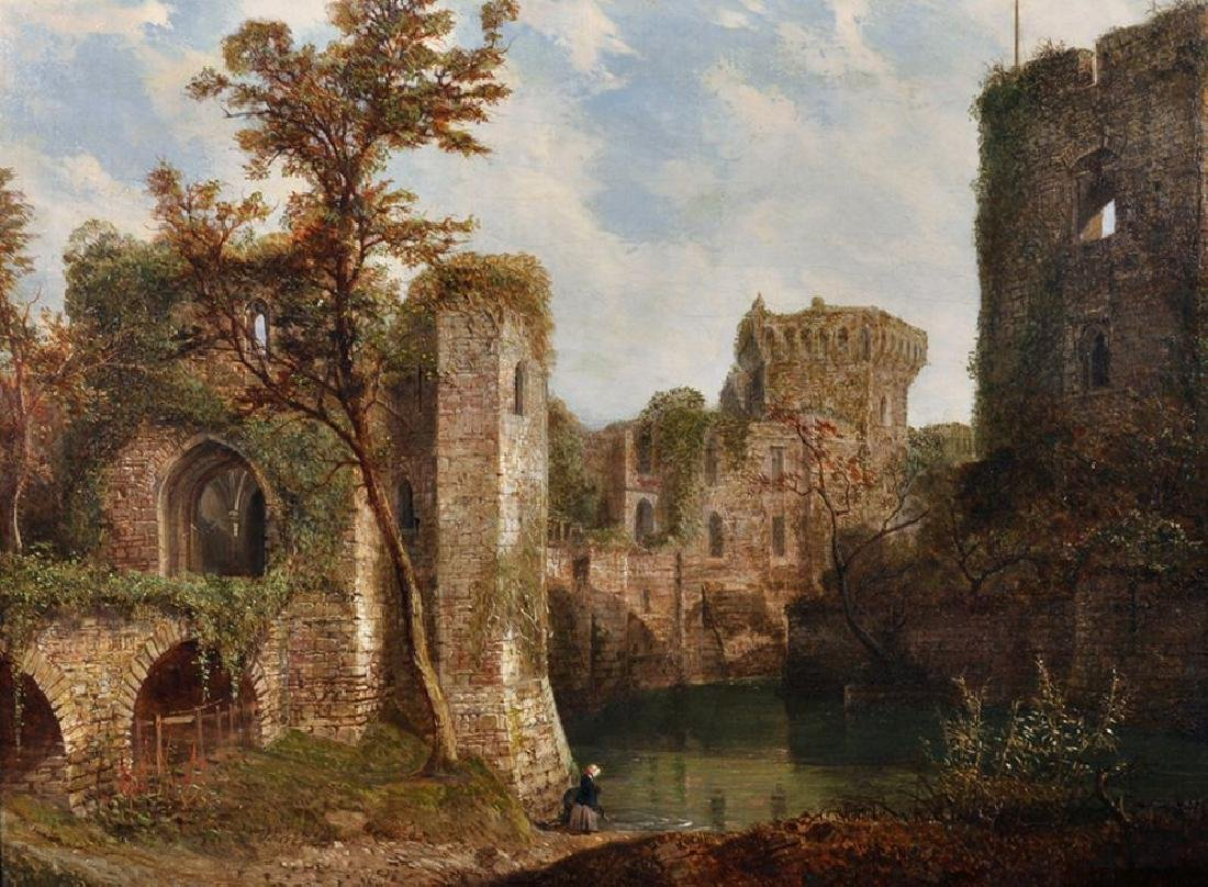 "Richard Manser Rayner (1843-1908) British. ""Raglan"