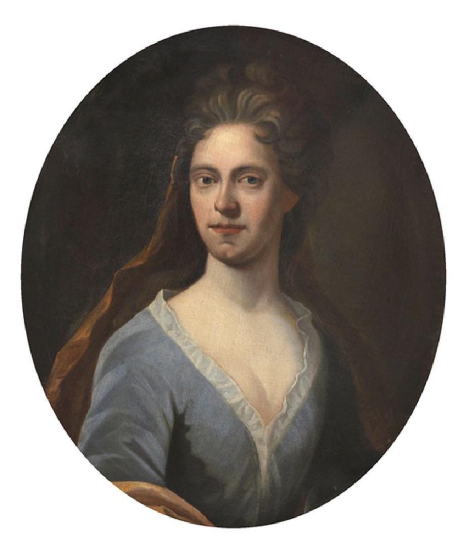 18th Century English School. Portrait of a 'Molly Boy',