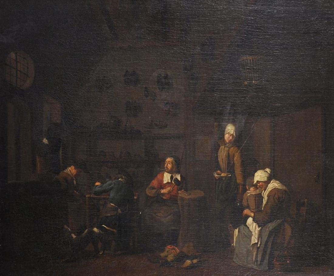 """Jan Josef Horemans (1682-1759) Flemish.  """"A Cobbler's"""