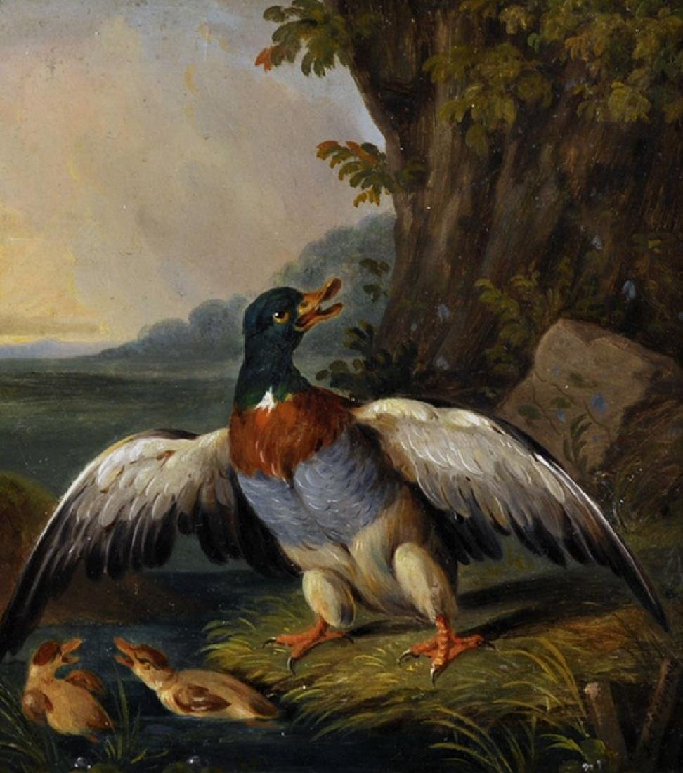J E Foerg (19th Century) Northern European. Study of a