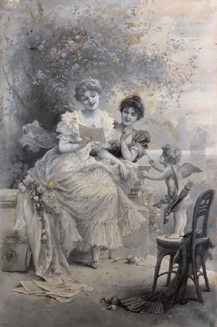 Circle of Emile Eisman-Semenowsky (1857-1911)