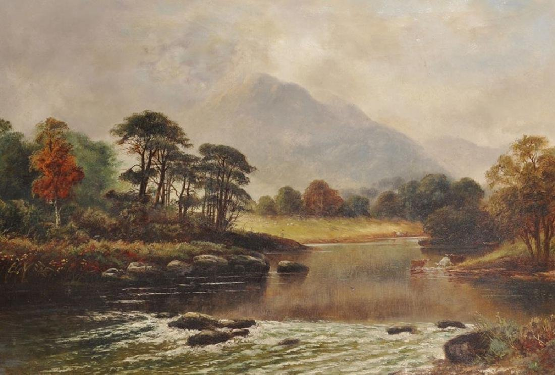 W.. L... Crampton (19th Century) British.  A Highland