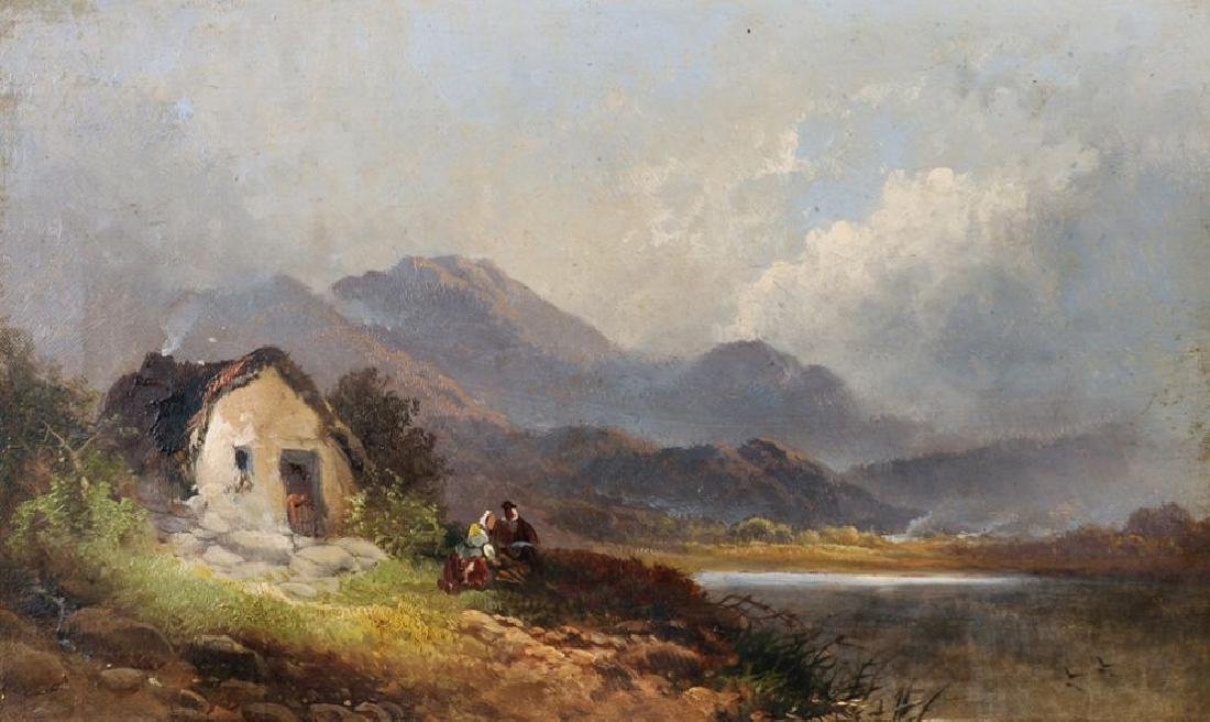 Joseph Horlor (1809-1887) British. A Highland River