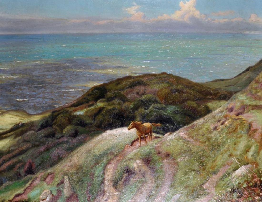 """Charles Ernest Butler (1864-1918/33) British. """"War"""