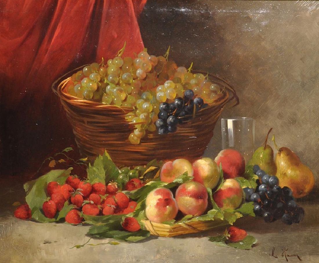 Karl Ludwig Hauser (1810-1873) German. Still Life of