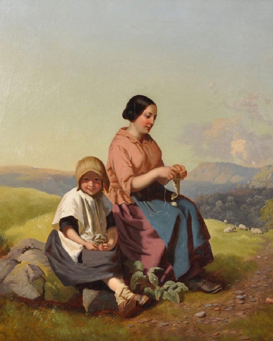 Henry Hetherington Emmerson (1831-1895) British. Mother