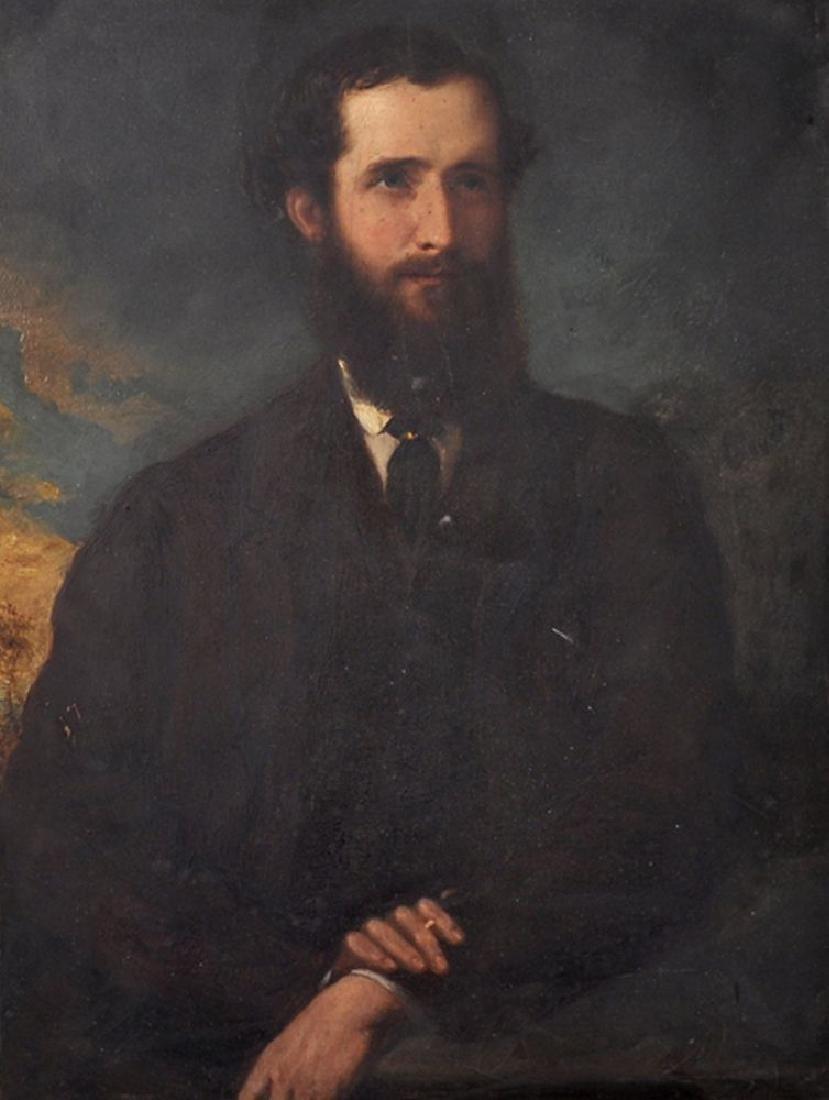 Henry Richard Graves (1818-1882) British. Portrait of a