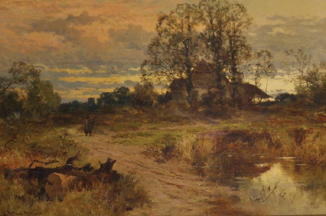 "John Horace Hooper (1851-1906) British. ""Evening"