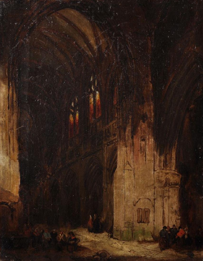 Circle of David Roberts (1796-1864) British. A
