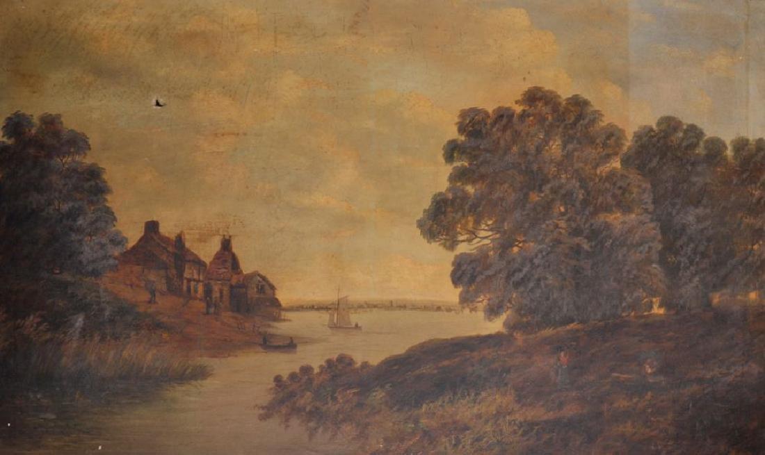 Arthur William Sharp (19th Century) British. A River