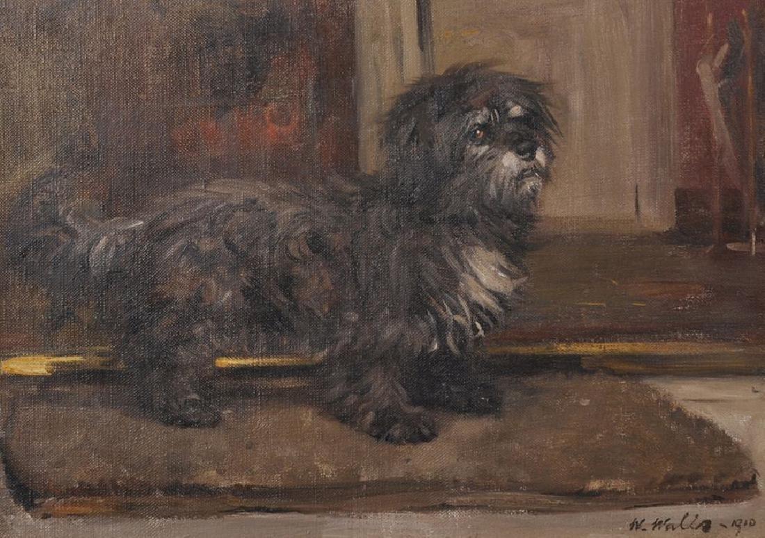 William Walls (1860-1942) British. A Glen of Imaal