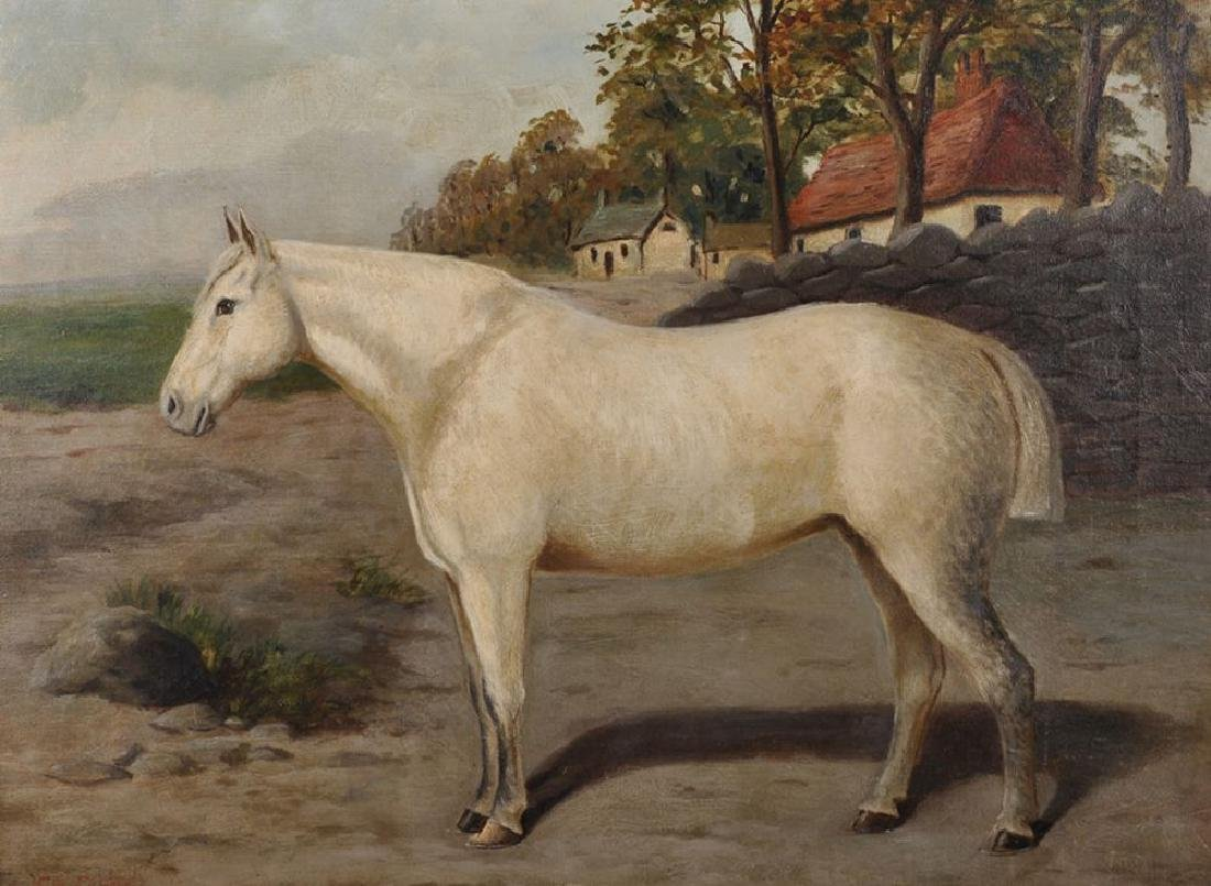 E... S... England (act.1890-1910) British. A Horse in a