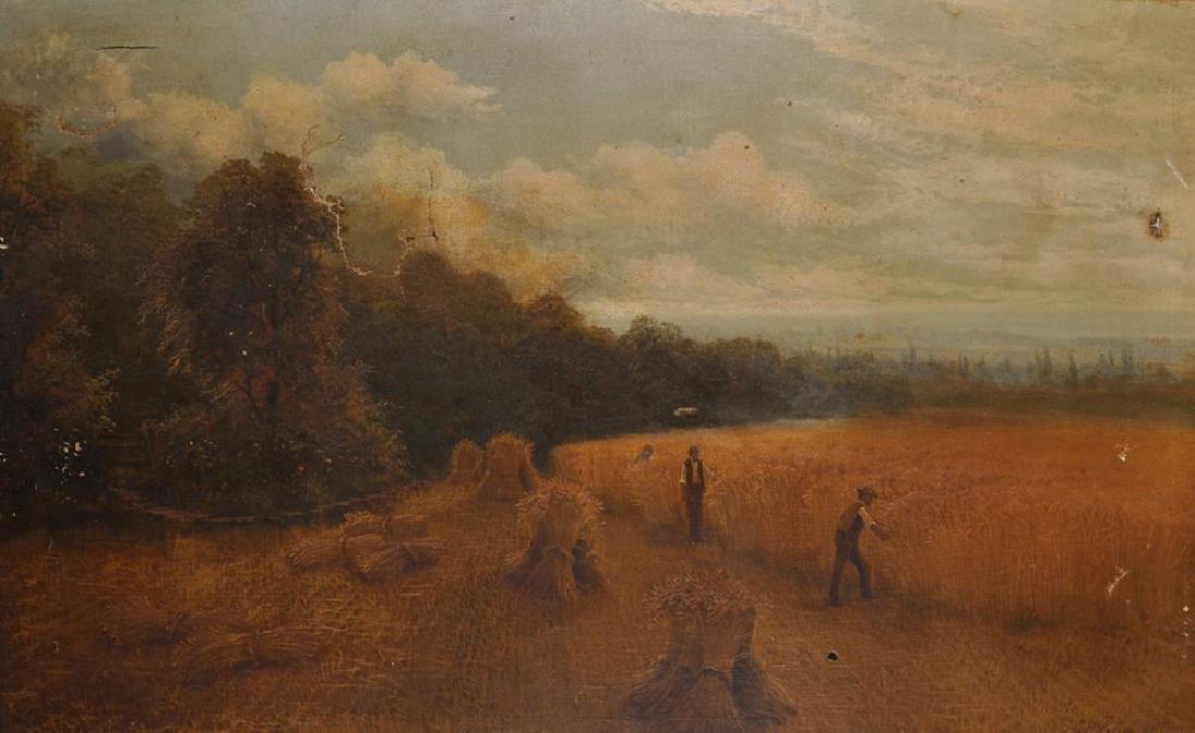 Charles Henry Passey (1818-1895) British. Harvesting,