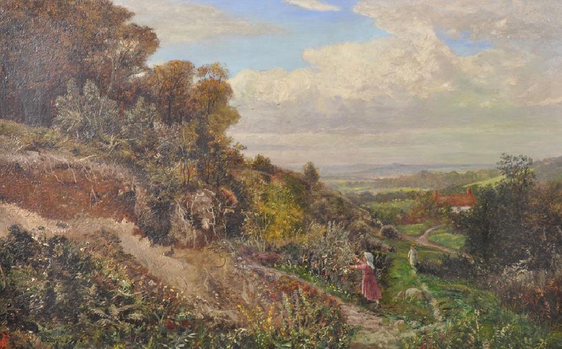 """William Foster (1853-1924) British. """"A Corner of"""