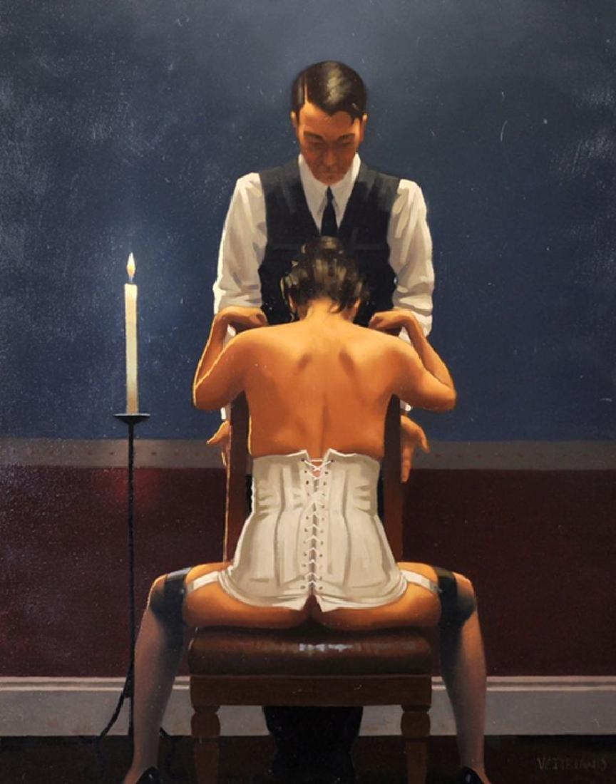 Jack Vettriano (1954-  ) British. 'The Perfectionist',