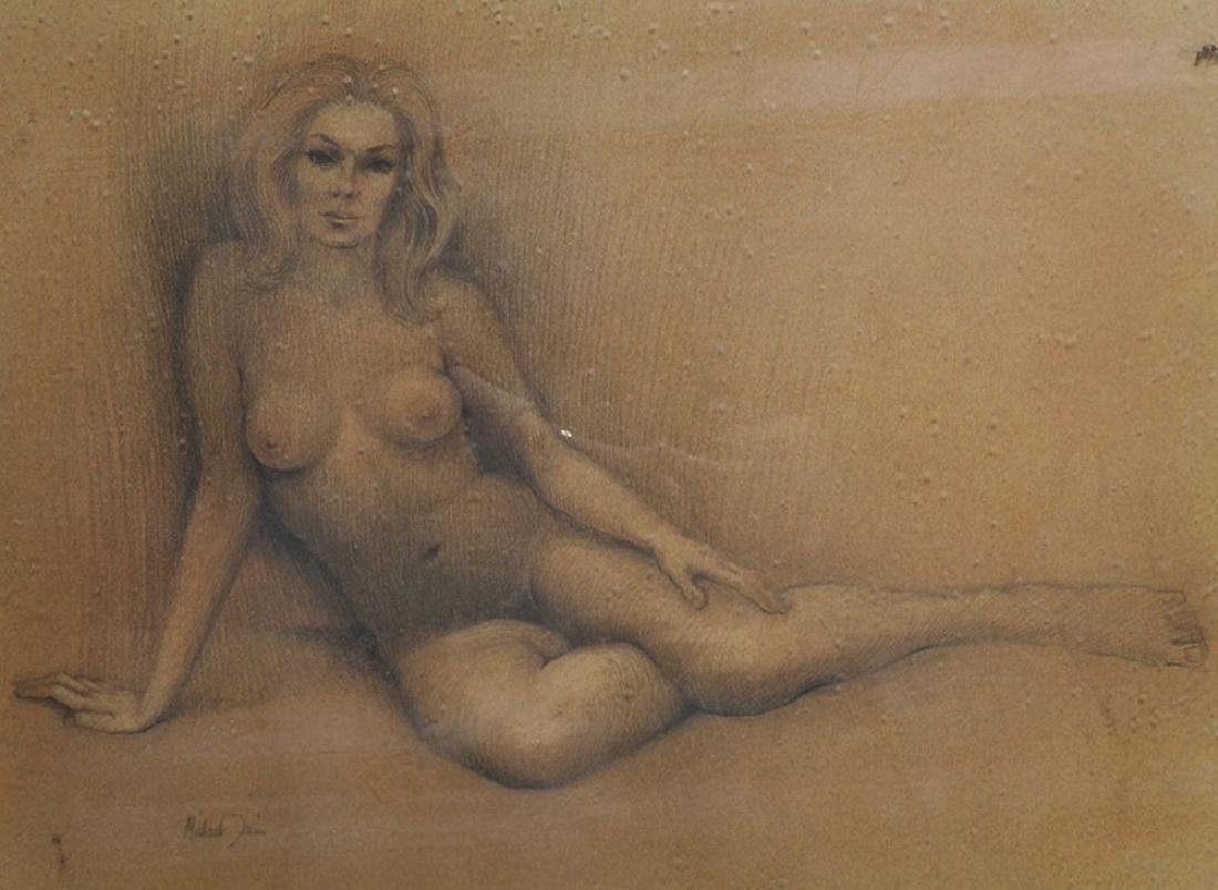 Michael Tain (1927    ) British. A Reclining Female