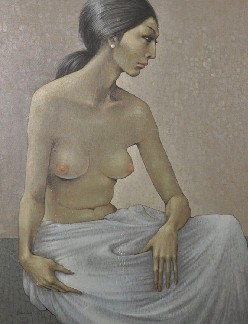 "Michael Tain (1927    ) British. ""Suy-Lin"", Portrait of"